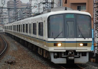 A0411 221系NA416編成 区間快速大阪行