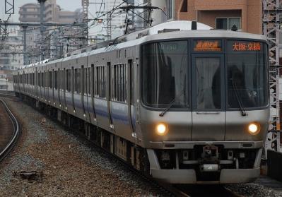 A0150 223系E404編成 直通快速京橋行