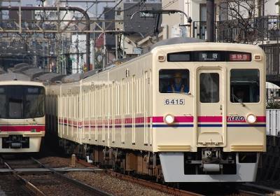 No.68 6415F+6017F 準特急新宿行