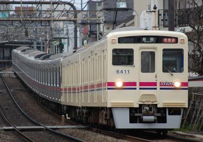 6411F+9001F 準特急新宿行