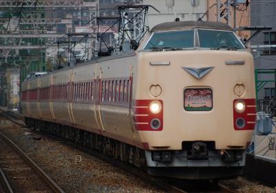9093M 381系日根野車 特急まほろば奈良行
