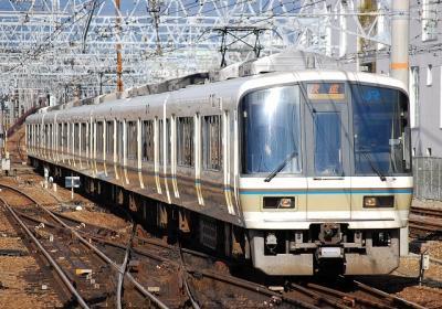 2730M 221系A1編成 快速大阪行