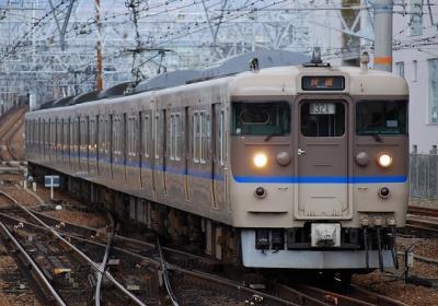 2734M 113系S1編成 快速大阪行