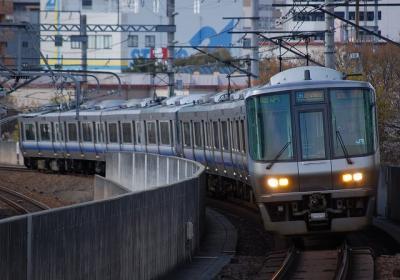 A0127 223系E421編成 関空/紀州時快速 関西空港/和歌山行
