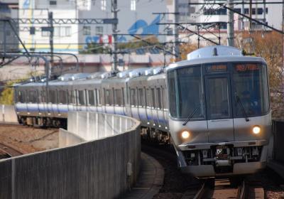 A0128 223系E???編成 関空・紀州時快速 関西空港/和歌山行