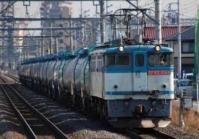 3091レ EF65-1089+タキ