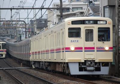 No.18 6412F 急行新宿行