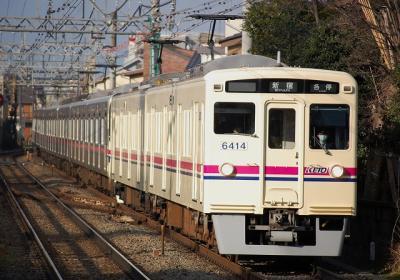 No.41 6414F 各停新宿行
