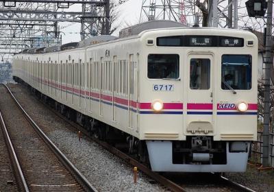 No.68 6017F 各停新宿行