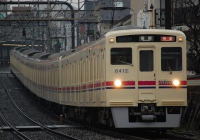 1ゥ 特急新宿行 6412F+6017F