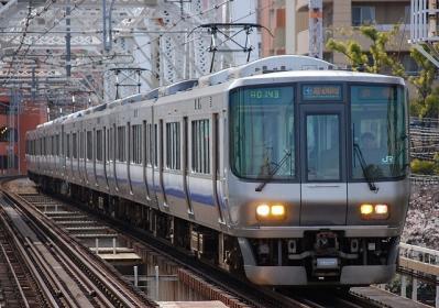 A0143 223系E423編成 関空・紀州路快速京橋行