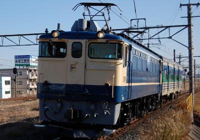 配9895レ EF65-1107+キハ30-100