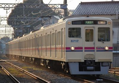 No.64 6017F 急行新線新宿行