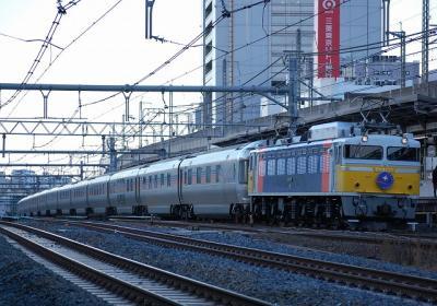 8002レ EF81-79+E26系 寝台特急カシオペア