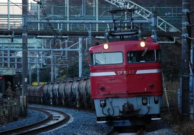 5781レ EF81-87+タキ+トキ