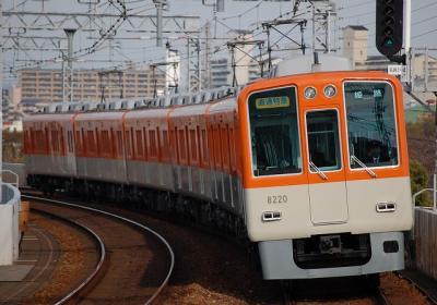 8219F 直通特急姫路行