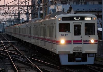 No.64 6017F 急行新宿行