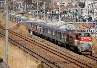 9861レ DE10-1662+京成3053F