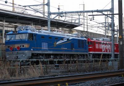 配9142レ EF81-95+EF510-501