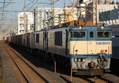 2459レ EF64-1006+EF64-1003+コキ
