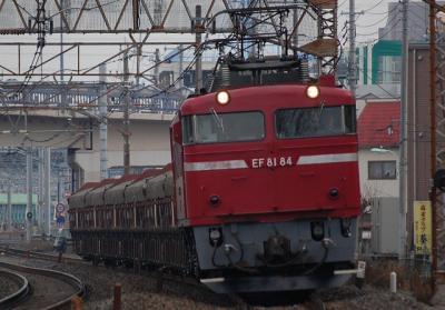 5781レ EF81-84+トキ