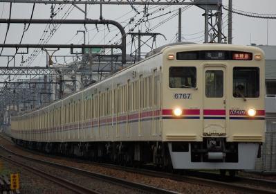No.12 6412F+6017F 準特急北野行
