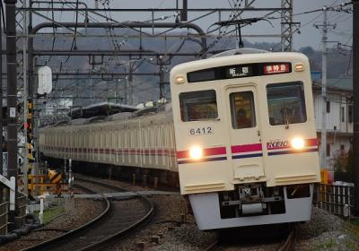No.12 6412F+6017F 準特急新宿行