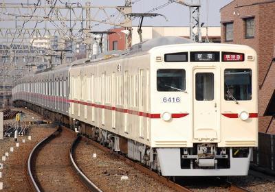 No.68 6416F 準特急新宿行