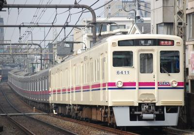 No.68 6411F 準特急新宿行