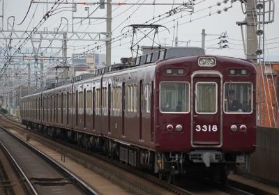 3318F 普通梅田行