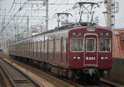 5301F 普通梅田行
