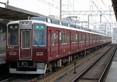 8332F 準急梅田行