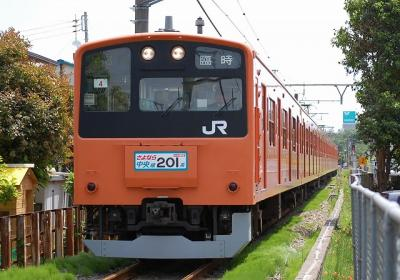9543M 201系H4改編成 「さよなら中央線H4編成高麗川」
