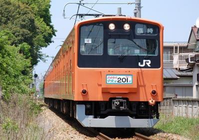 9544M 201系H4改編成 「さよなら中央線H4編成高麗川」