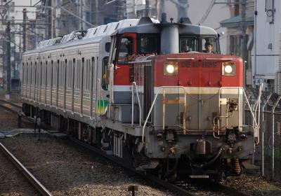 9891レ DE10-1189+秩父鉄道7501F