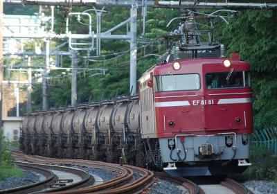5781レ EF81 81+タキ