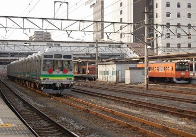 秩父鉄道7501Fと201系