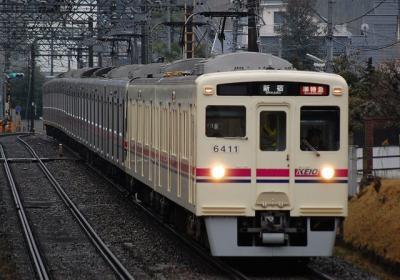 6411F+9006F 準特急新宿行