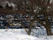 平日でも満車の駐車場