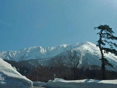 大山駐車上からの眺め