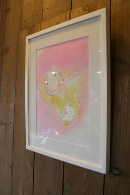 【ヒサスマ展】ピンクの抱っこ