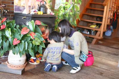 【抱っこ展】親子3