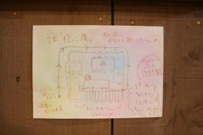 【抱っこ展】案内図