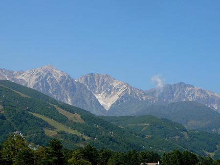 白馬岳(遠景)