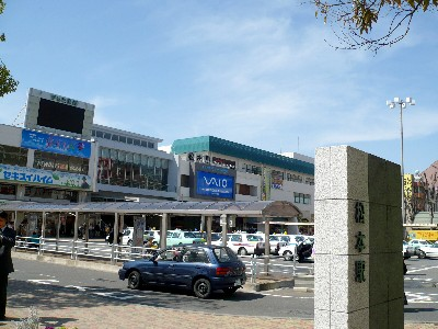 松本駅(風景)
