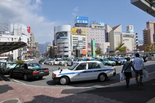 松本駅前(風景)