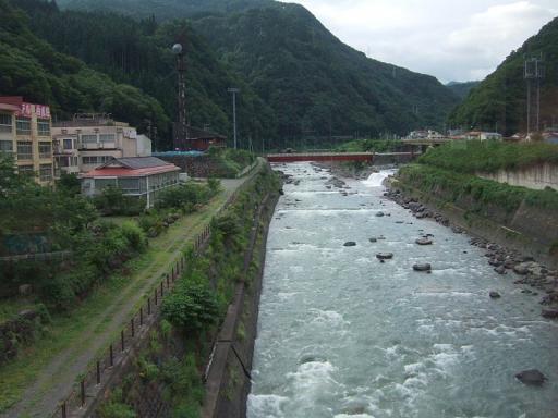 糸魚川市の姫川温泉