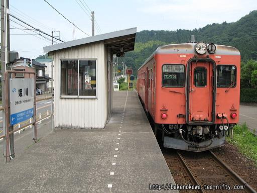 大糸線姫川駅