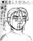 前田永太郎のラフ画160