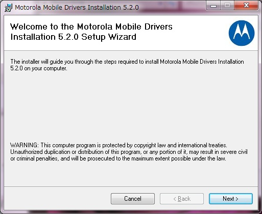 motorola 5.2.0 driver with motohelper